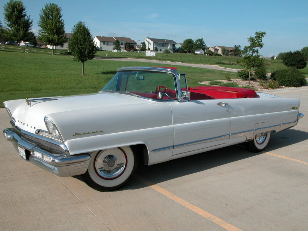 1956 Lincoln Premiere Convertible For Sale