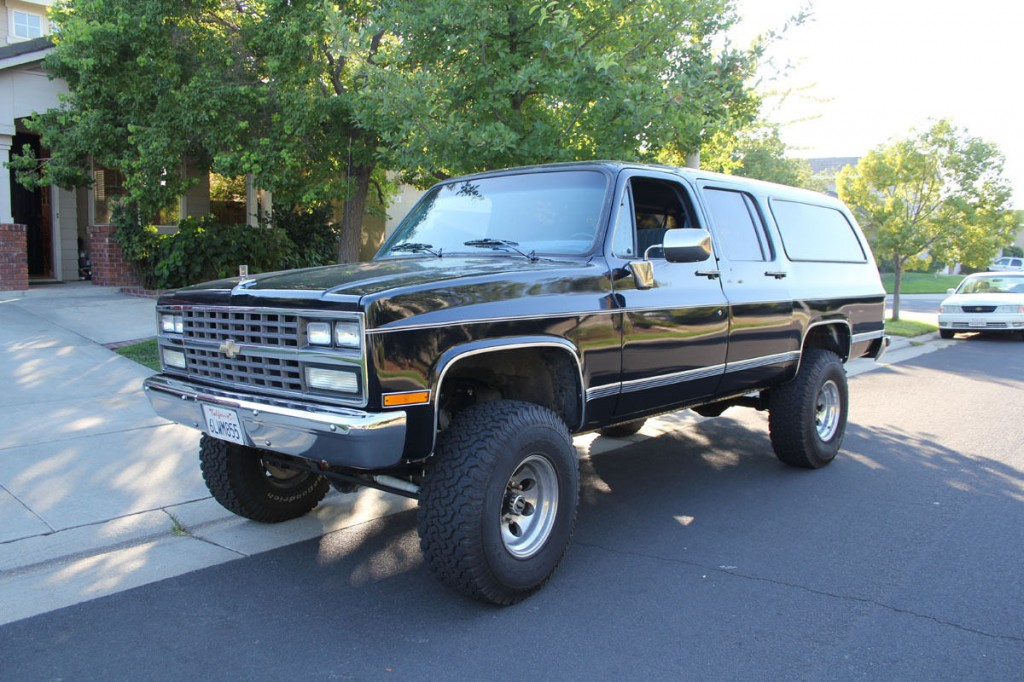 Chevy Blazer 2015 >> 1990 Chevrolet Suburban for sale