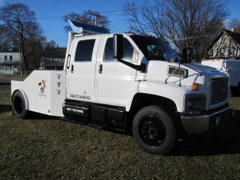 2006 GMC Kodiak Topkick C6500 Crew Cab Hauler for sale