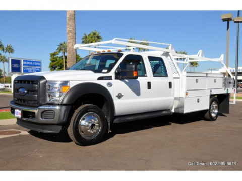 2015 Ford F-550 Crew Cab for sale