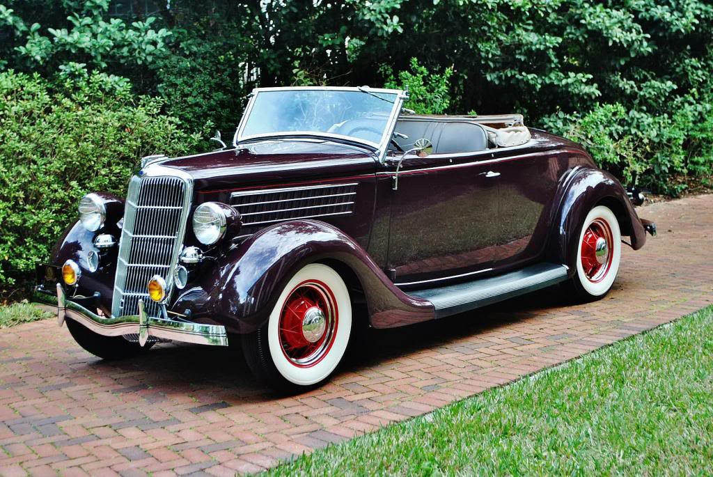 1935 Ford Deluxe Roadster For Sale