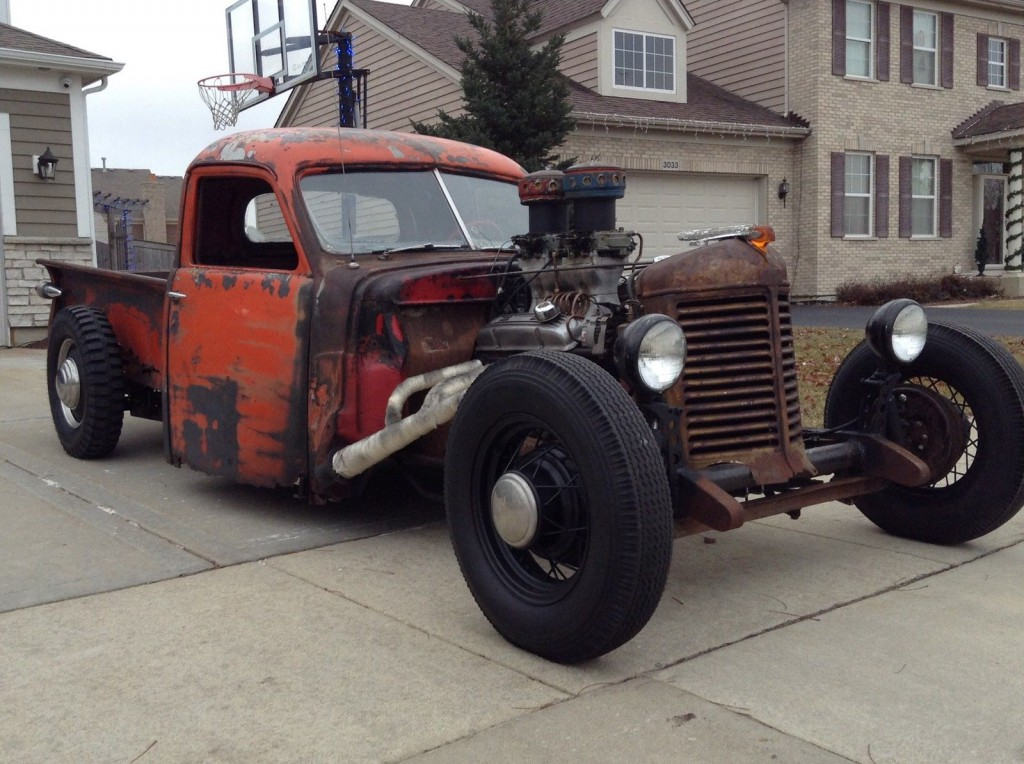 1947 Studebaker Rat Rod For Sale