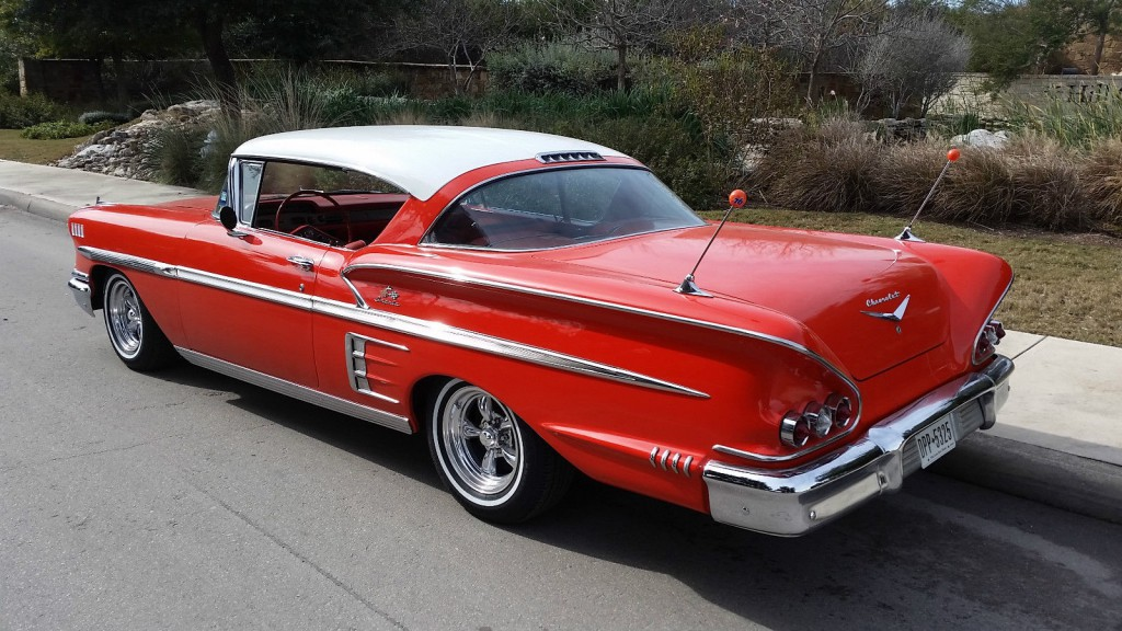 1958 chevrolet impala sport coupe for sale. Black Bedroom Furniture Sets. Home Design Ideas