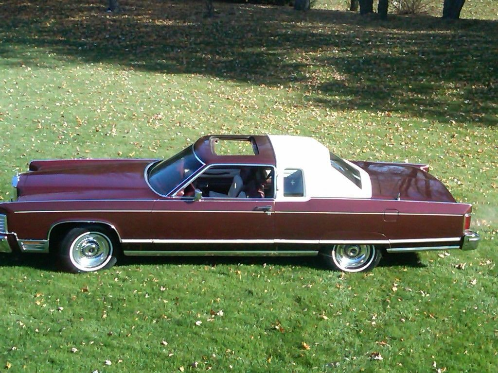 1977 lincoln continental town coupe for sale. Black Bedroom Furniture Sets. Home Design Ideas