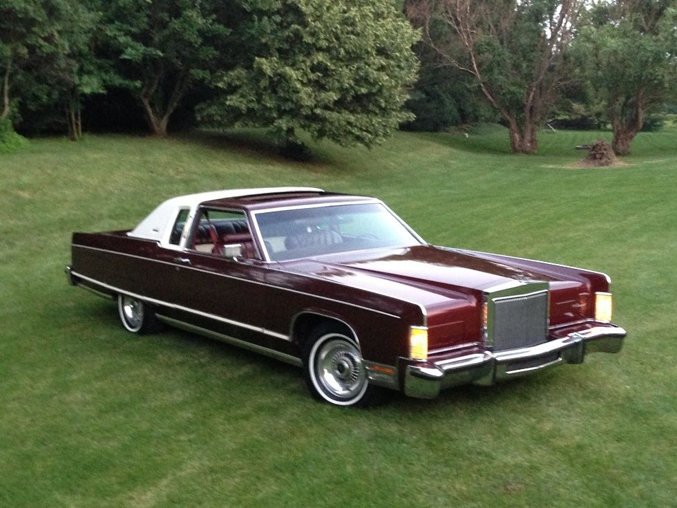 1977 Lincoln Continental Town Coupe For Sale