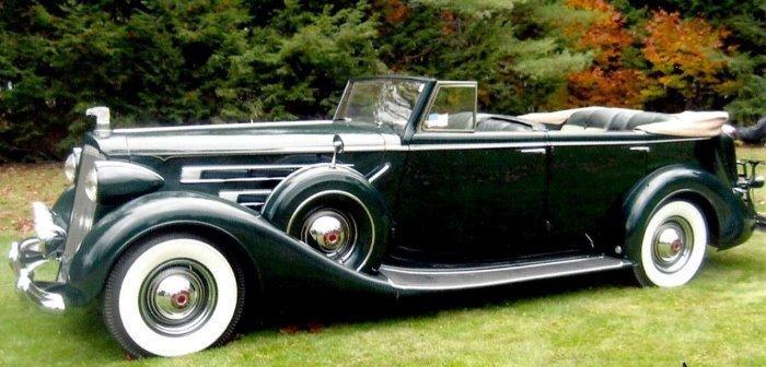 1937 Packard 1508 Convertible