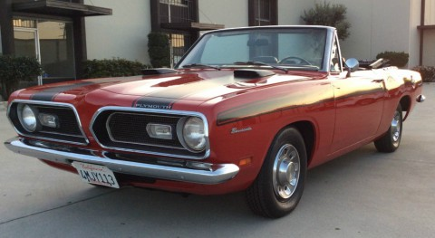 1969 Plymouth Barracuda Convertible for sale