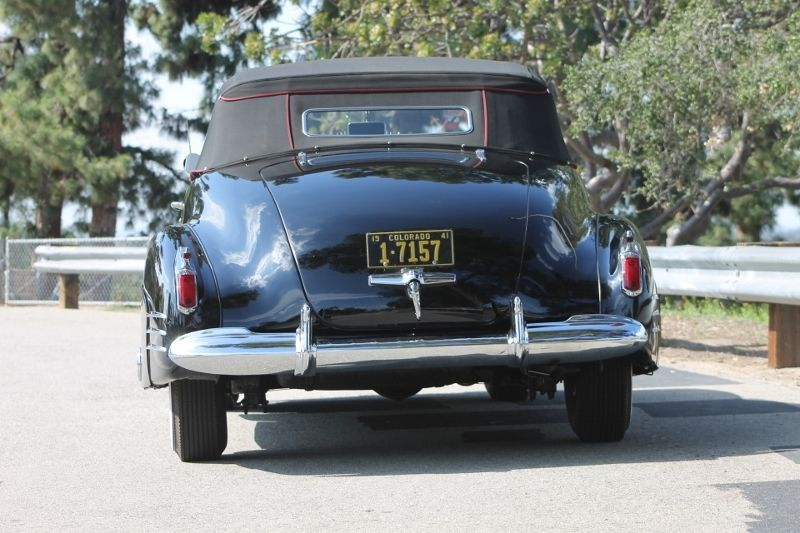 1941 Cadillac Series 62 Convertible
