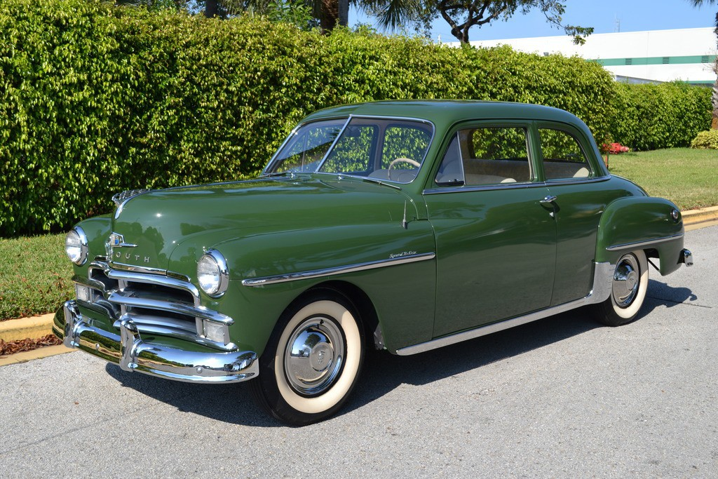 American Auto Sales: 1950 Plymouth DeLuxe For Sale