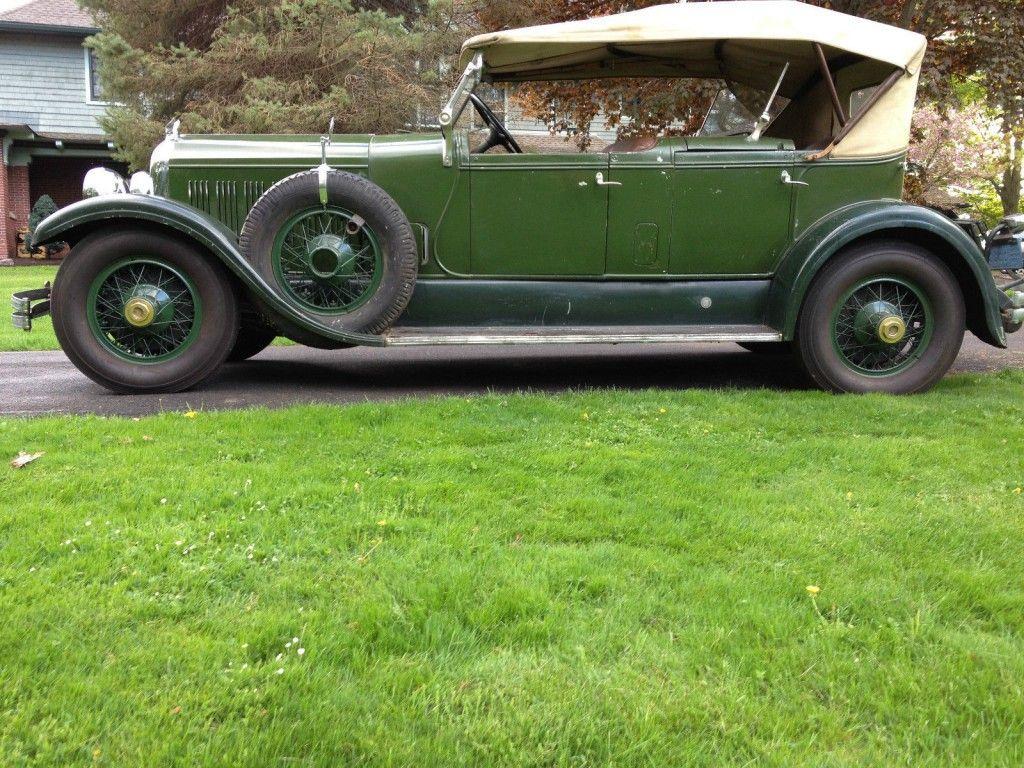 1928 Chrysler Imperial DC Phaeton LeBaron