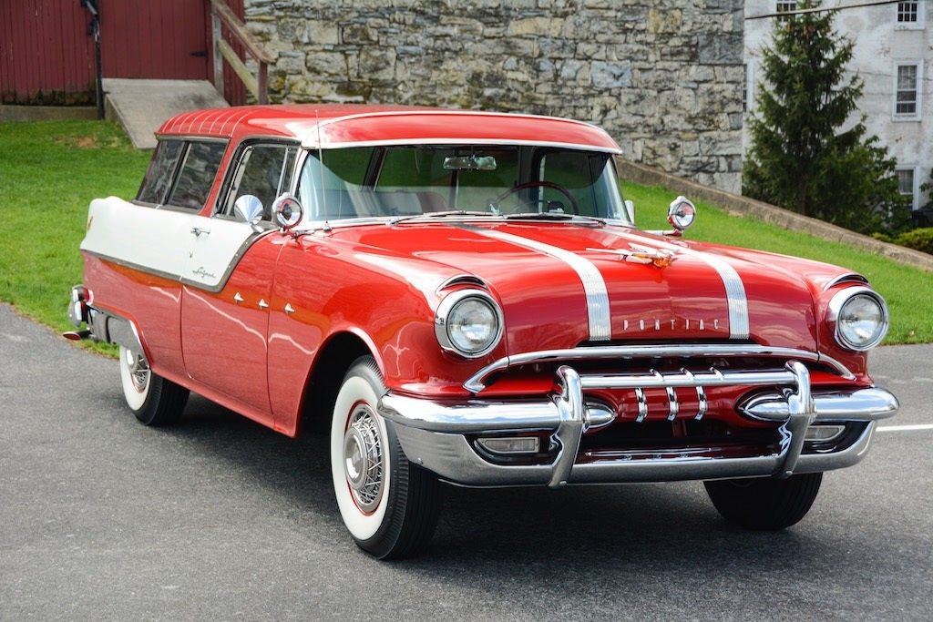 American Auto Sales: 1955 Pontiac Safari For Sale