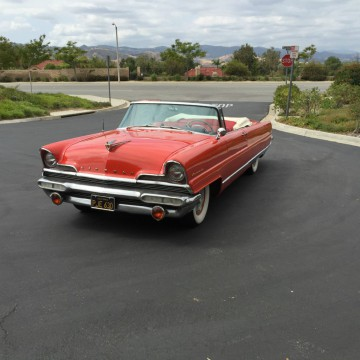 1956 Lincoln Premier Convertible for sale