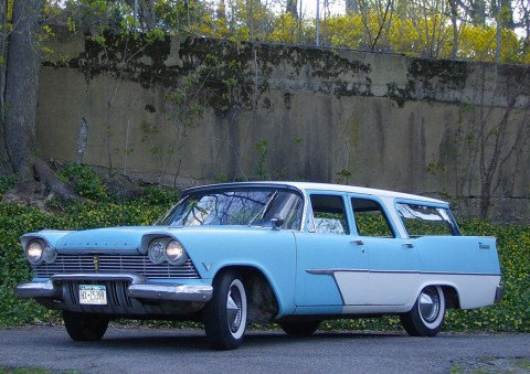 1957 Plymouth Suburban Station Wagon for sale