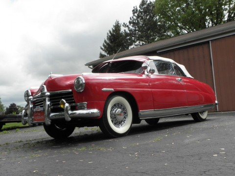 1949 Hudson Commodore Six Convertible for sale