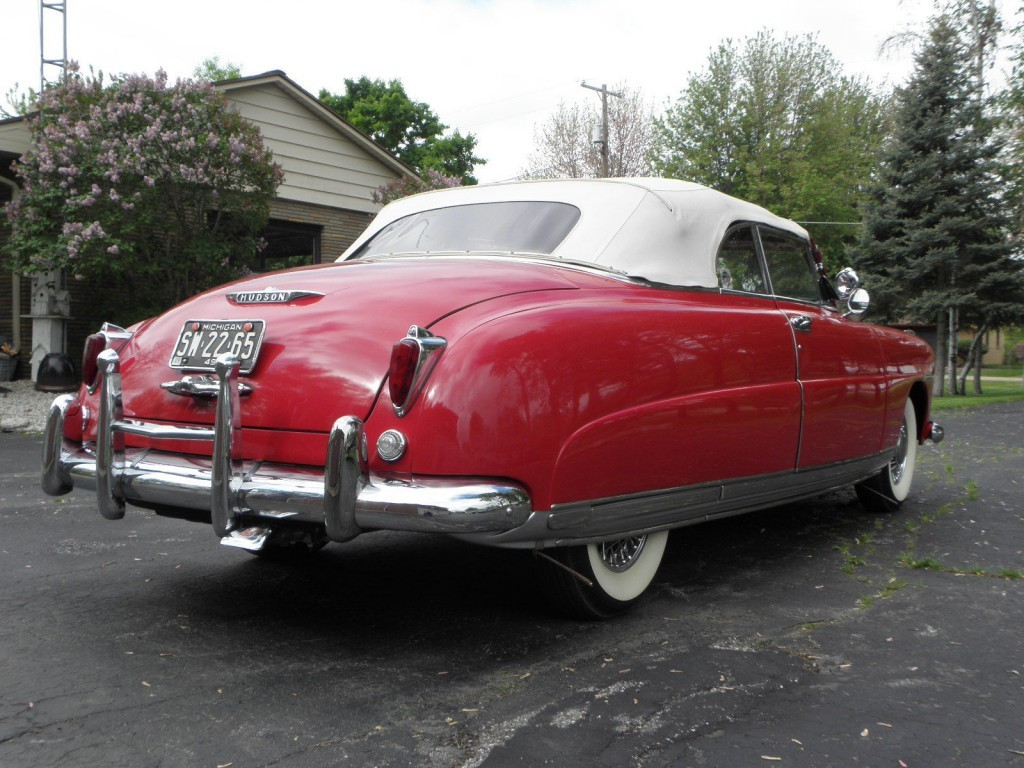 1949 Hudson Commodore Six Convertible