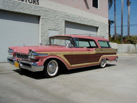 1957 Mercury Colony Park Station Wagon for sale