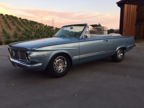 1964 Plymouth Valiant Signet 200 Convertible for sale