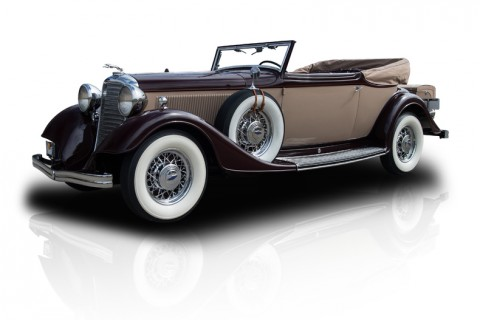 1933 Lincoln KB Victoria for sale