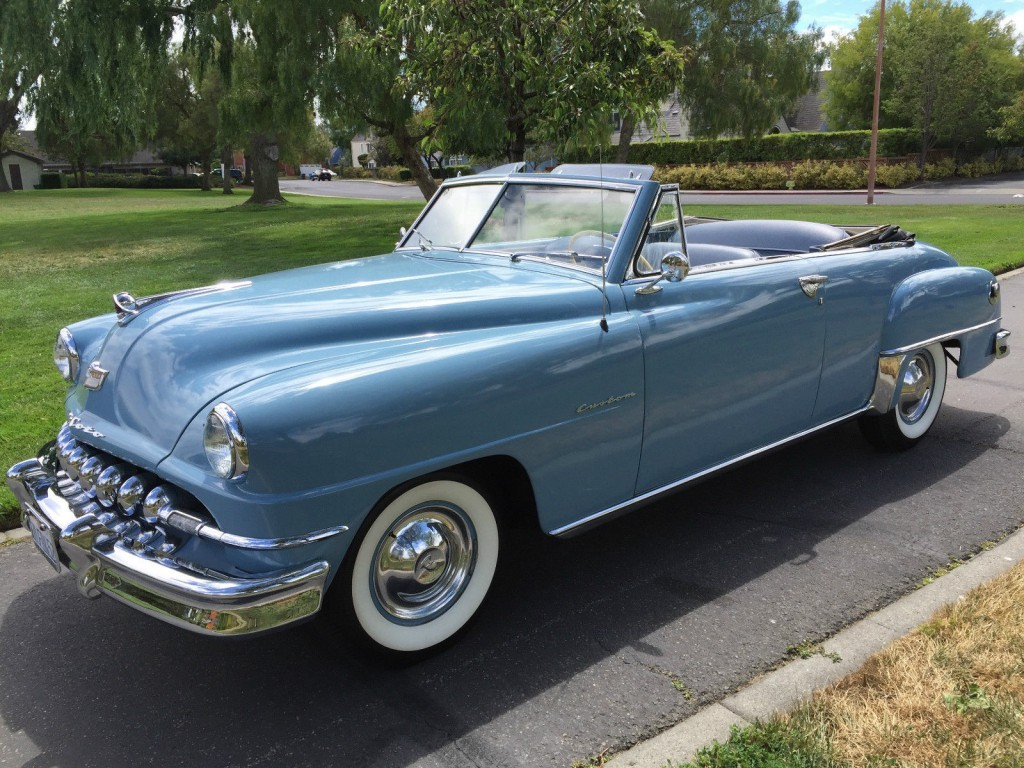 American Auto Sales: 1951 DeSoto Custom Convertible For Sale