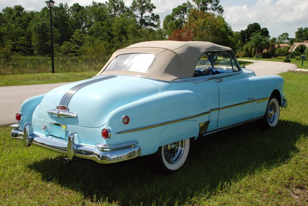 1951 Pontiac Chieftain Convertible