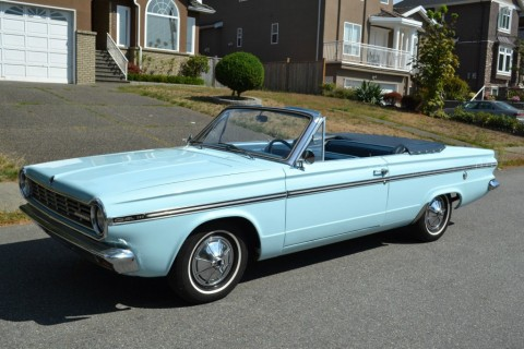 1965 Plymouth Valiant Convertible for sale