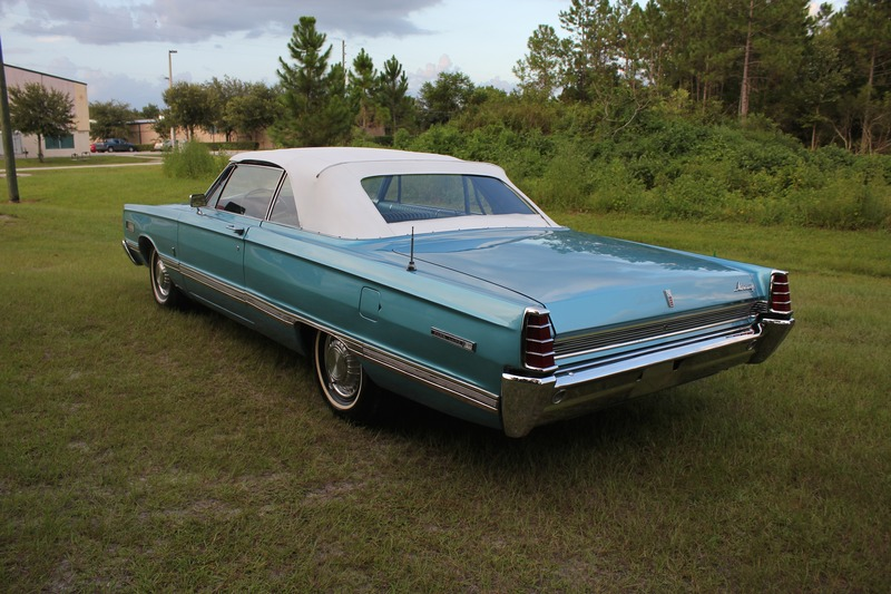 1966 Cadillac Sedan Deville 1966 Mercury Park Lane Convertible for sale