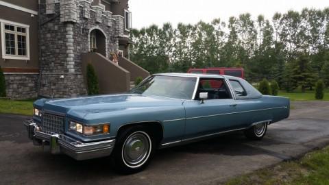 1976 Cadillac DeVille for sale
