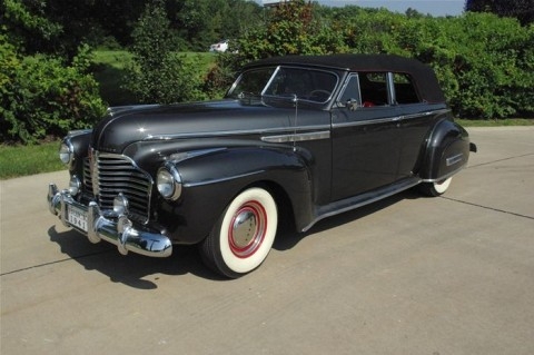 1941 Buick Roadmaster Convertible for sale