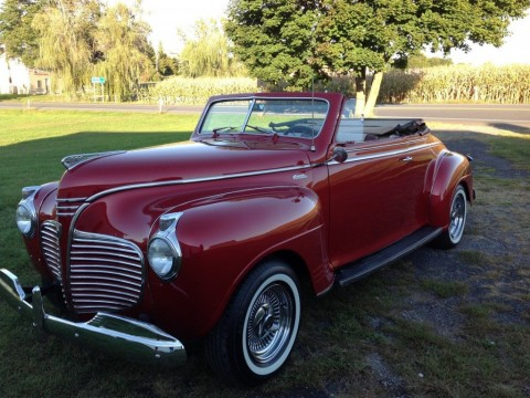 1941 Plymouth Special Deluxe Convertible for sale