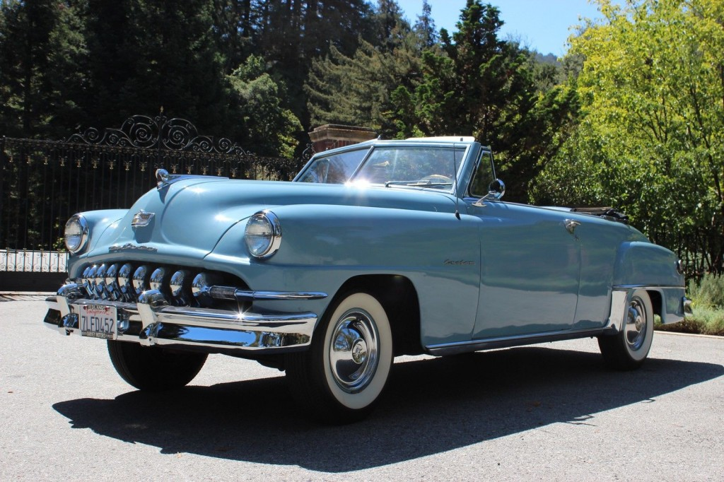 1951 desoto custom convertible for sale. Black Bedroom Furniture Sets. Home Design Ideas