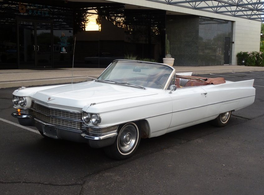 1963 Cadillac Deville Convertible For Sale