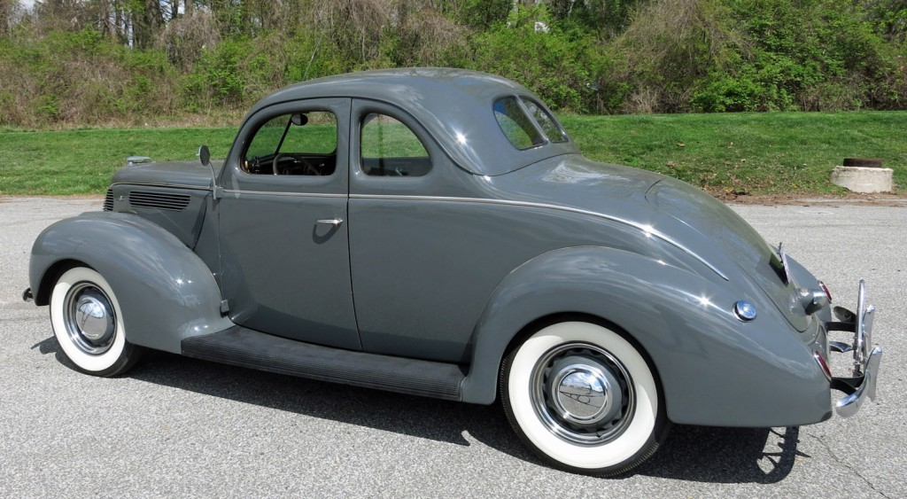 1938 Ford Deluxe Coupe on 1963 ford engines