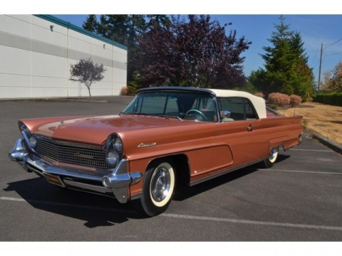 1960 lincoln continental mark v american cars for sale. Black Bedroom Furniture Sets. Home Design Ideas
