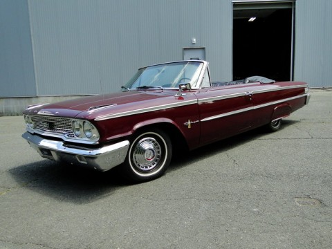 1963 Ford Galaxie 500 Convertible for sale