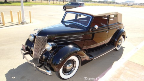 1936 Ford Deluxe Convertible for sale