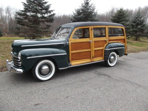 1948 Ford Super Deluxe Wagon for sale