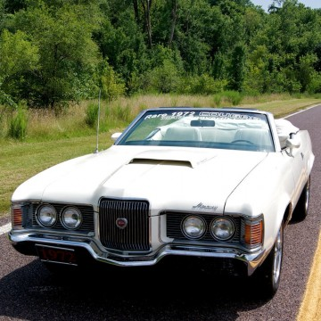 1972 Mercury Cougar XR7 for sale