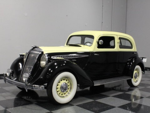 1936 Hupmobile 618G Touring Sedan for sale