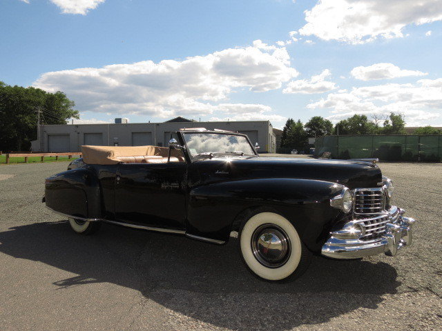 1947 Lincoln Continental Convertible