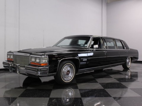 1982 Cadillac DeVille Limousine for sale