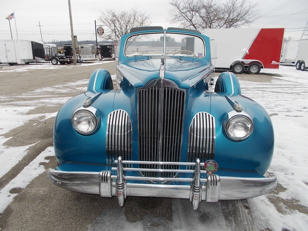 1941 Packard 160 Deluxe Convertible