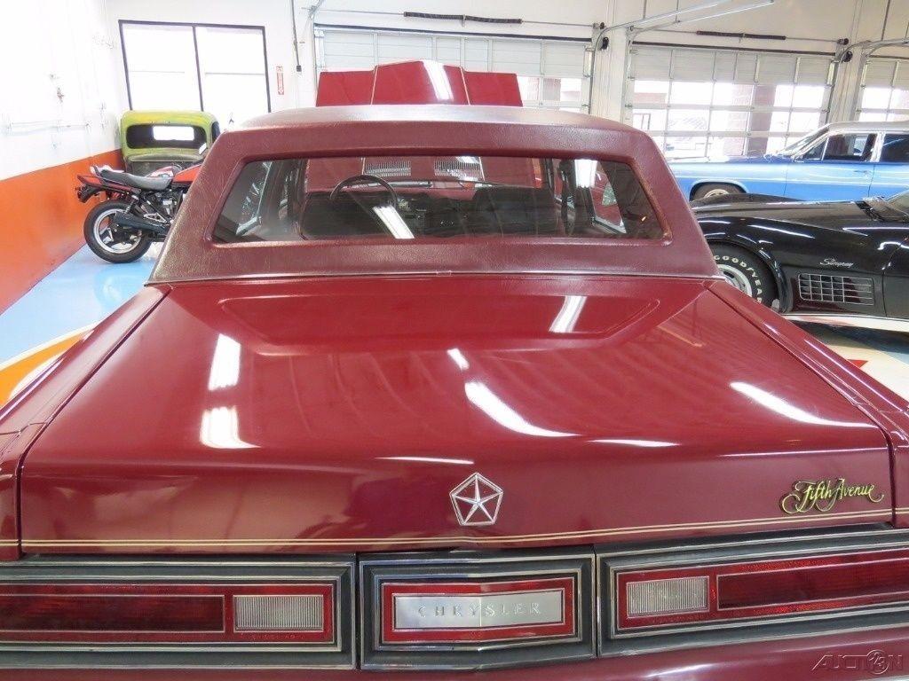 1984 Chrysler New Yorker