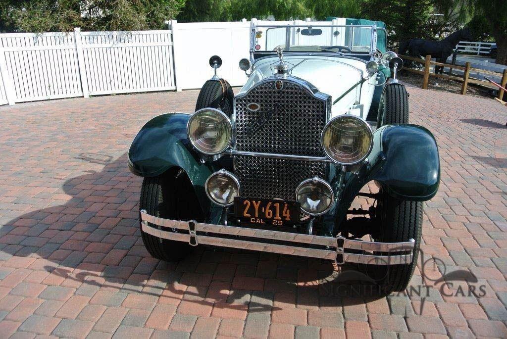 1929 Packard 645 Sport Phaeton