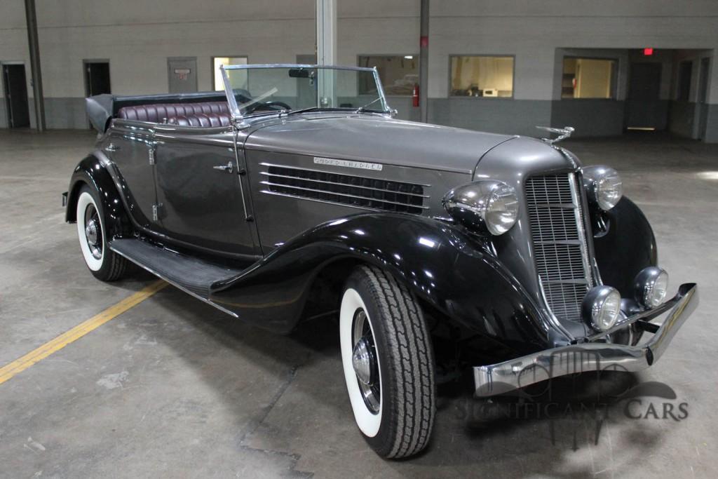 1936 Auburn 852 SC Phaeton for sale