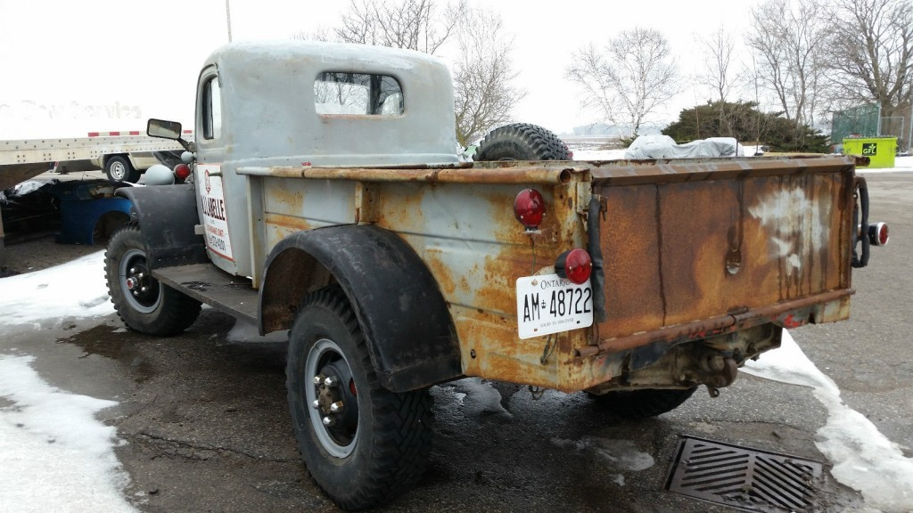 1956 dodge power wagon for sale for Motorized wagon for sale