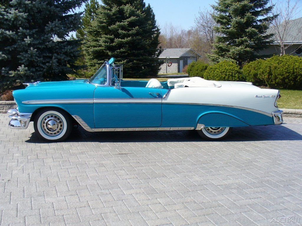 2016 Cadillac Convertible >> 1956 Chevrolet Bel Air Convertible for sale