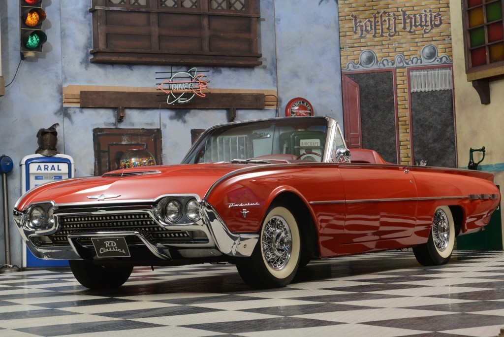 1962 Ford Thunderbird Convertible