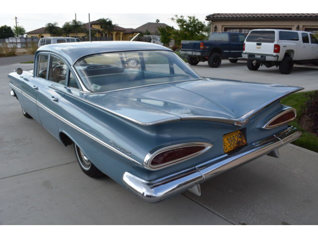 Impala Ss 2018 >> 1959 Chevrolet Biscayne for sale