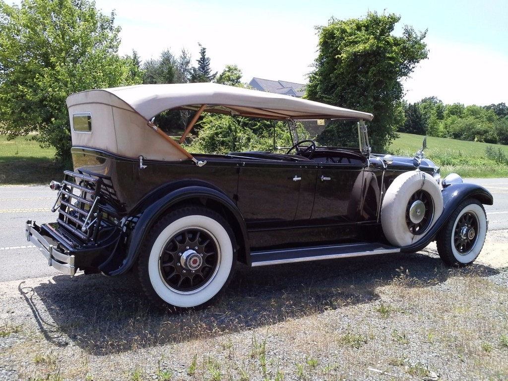 1929 packard touring car for sale