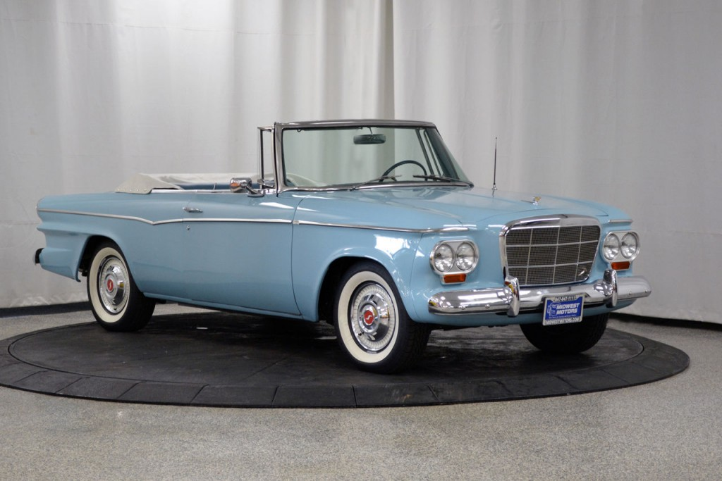 Studebaker Lark Convertible American Cars For Sale X on 1959 Cadillac Deville Convertible